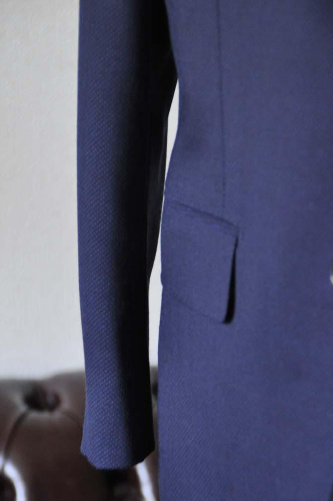 DSC1153-1 お客様のスーツの紹介-ネイビーバーズアイ-