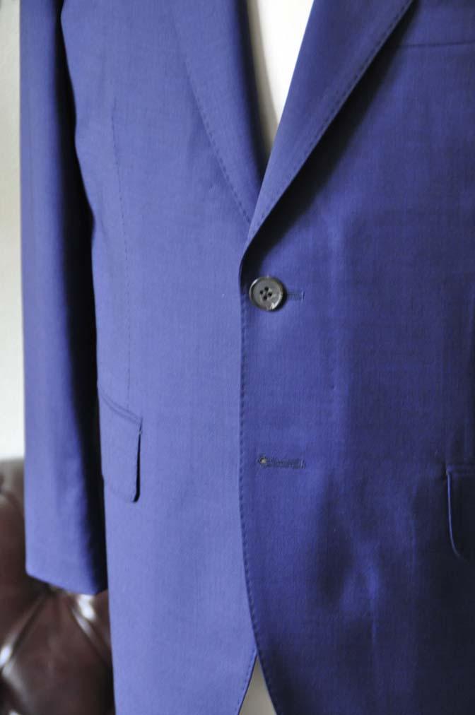 DSC1154-1 お客様のスーツの紹介-Biellesi無地ネイビースーツ-