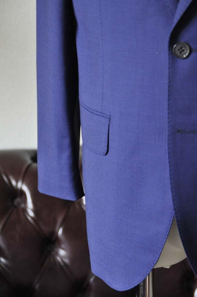 DSC1155-2 お客様のスーツの紹介-Biellesi無地ネイビースーツ-