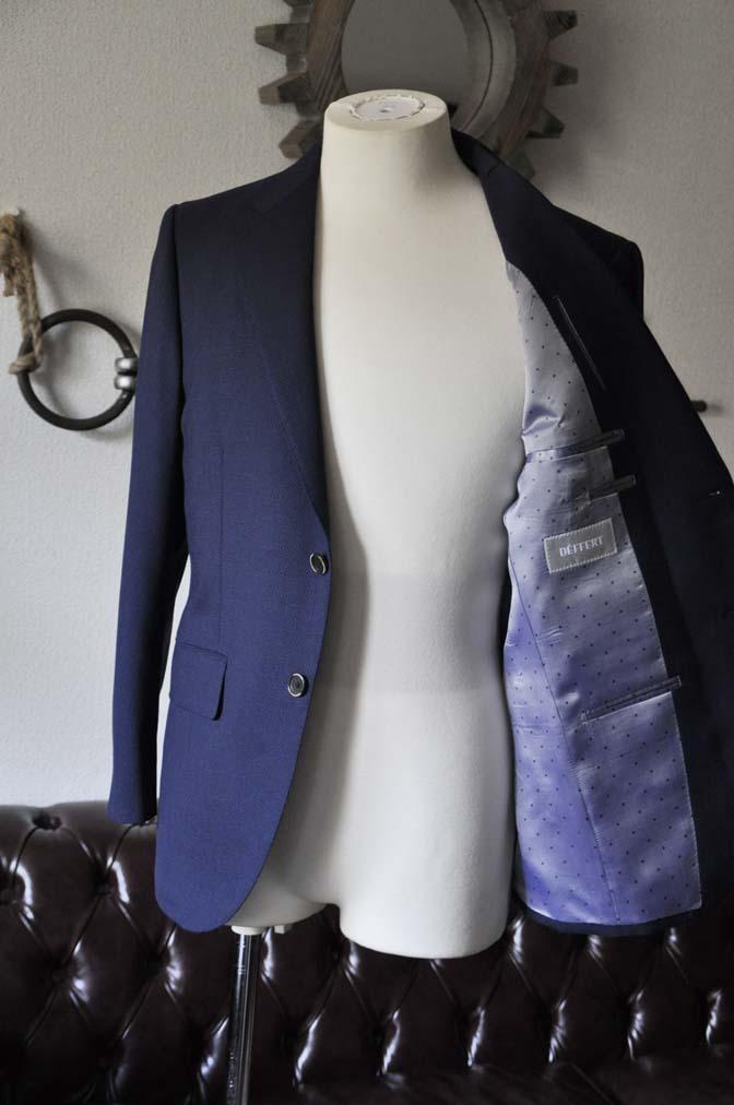 DSC1156-1 お客様のスーツの紹介-ネイビーバーズアイ-