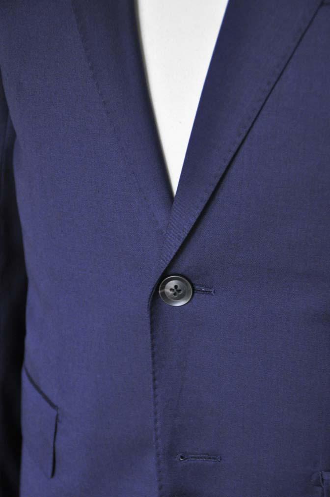 DSC12172 お客様のスーツの紹介-Biellesi 無地ネイビースーツ-