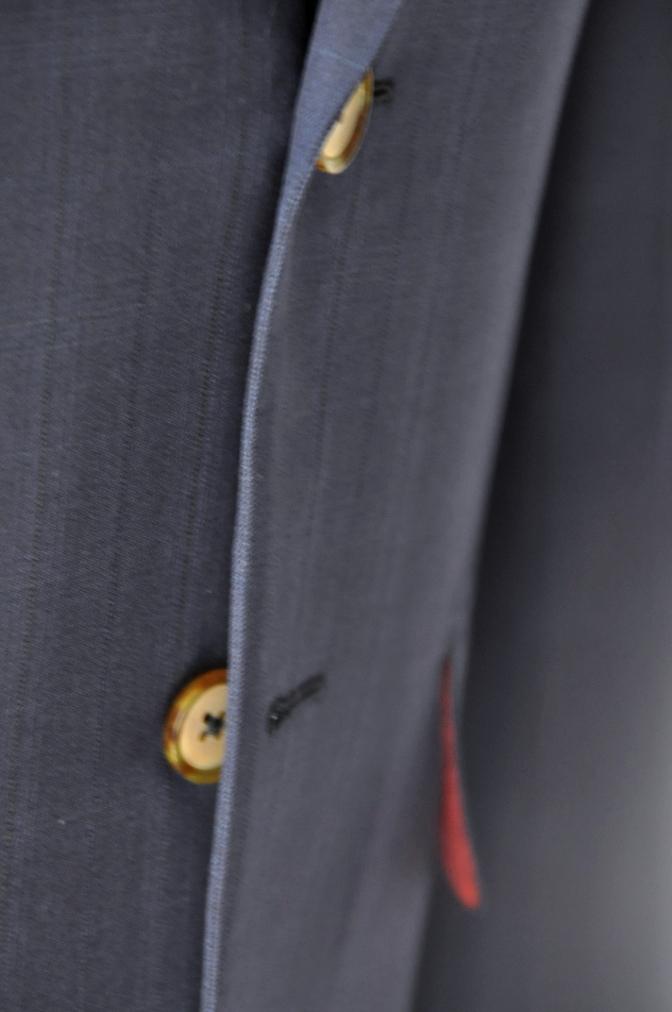 DSC12222 お客様のスーツの紹介-Biellesi ネイビーチェックス-ツ-