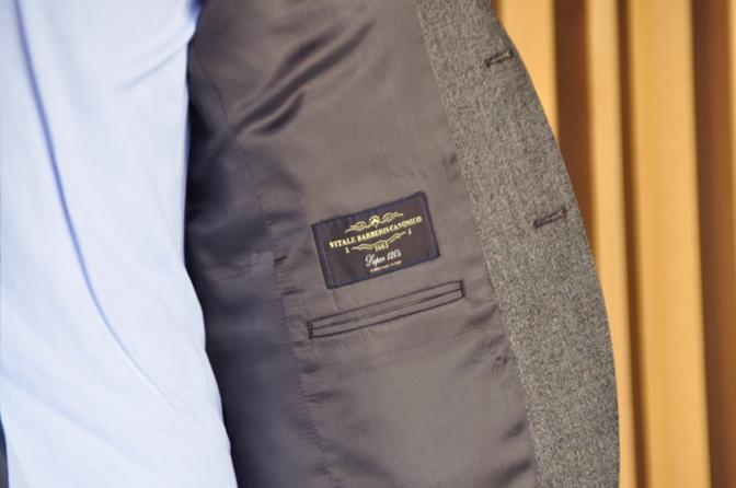 DSC1227-4 オーダースーツの紹介-CANONICO ブラウンフランネルスーツ-