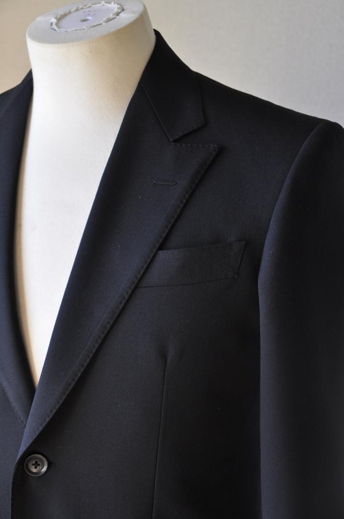 DSC12271 お客様のスーツの紹介-ブラックスーツ- 名古屋の完全予約制オーダースーツ専門店DEFFERT
