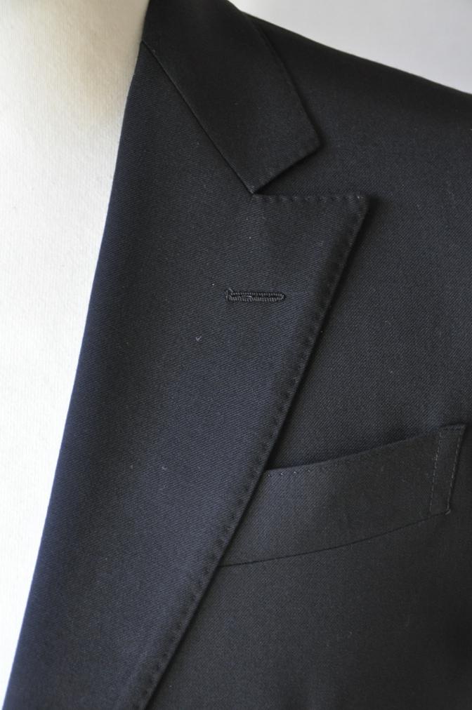 DSC12281 お客様のスーツの紹介-ブラックスーツ- 名古屋の完全予約制オーダースーツ専門店DEFFERT