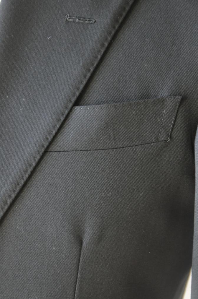 DSC12291 お客様のスーツの紹介-ブラックスーツ- 名古屋の完全予約制オーダースーツ専門店DEFFERT