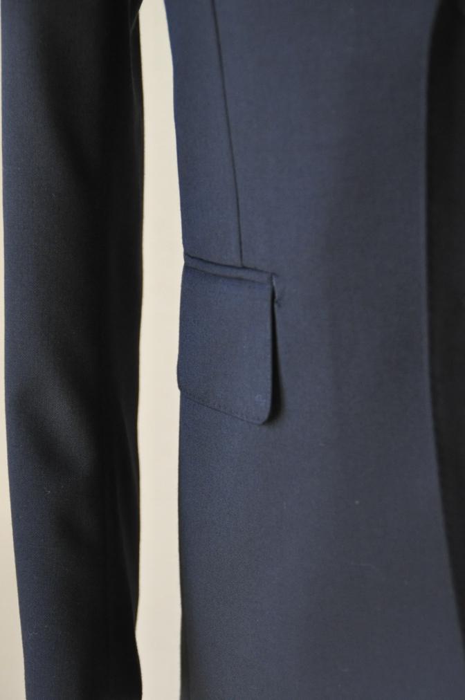 DSC12311 お客様のスーツの紹介-ブラックスーツ- 名古屋の完全予約制オーダースーツ専門店DEFFERT