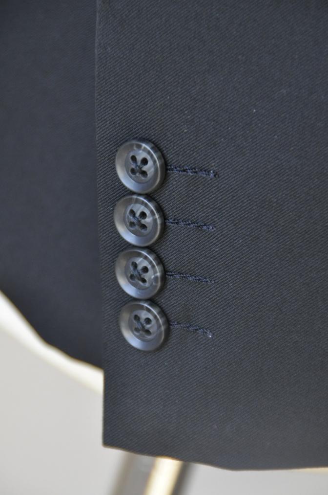 DSC12321 お客様のスーツの紹介-ブラックスーツ- 名古屋の完全予約制オーダースーツ専門店DEFFERT