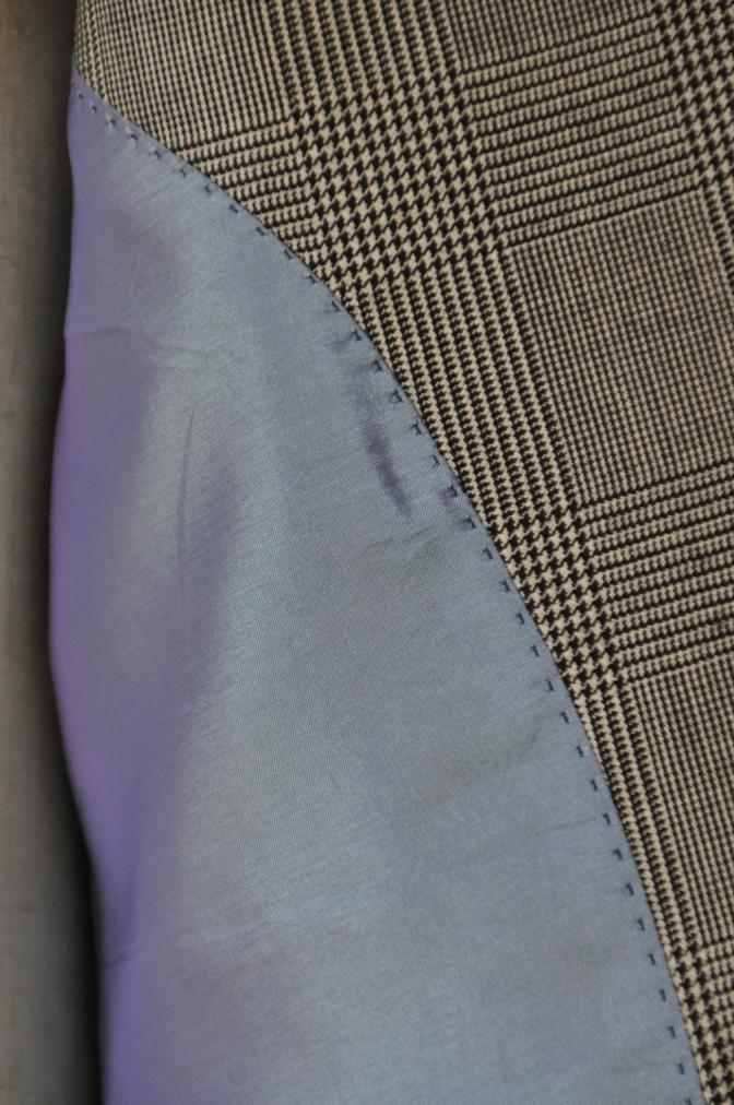 DSC1233 お客様のスーツの紹介-グレンチェック シングル2つボタン-