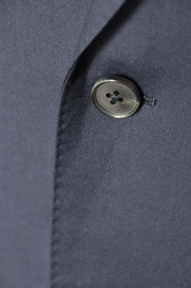 DSC12491 お客様のスーツの紹介-Biellesi 無地ネイビースーツ-