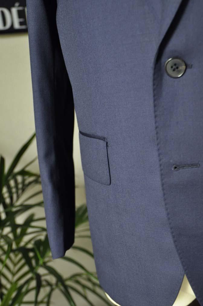 DSC12511 お客様のスーツの紹介-Biellesi 無地ネイビースーツ-