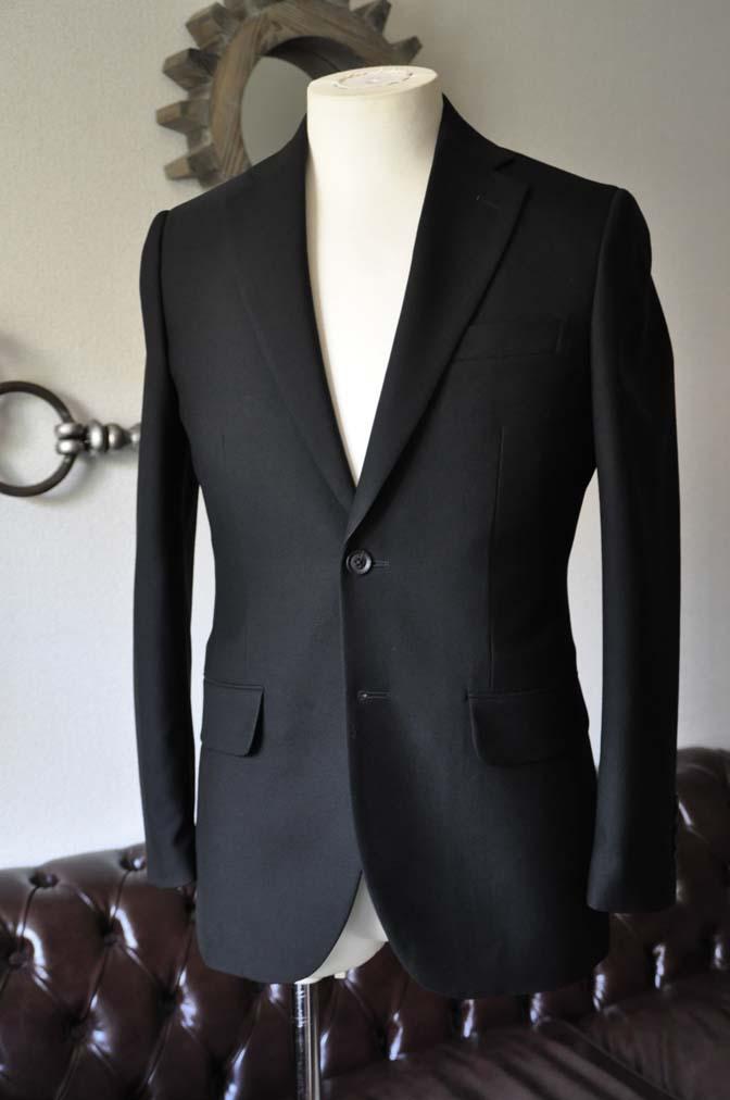 DSC1263-1 お客様のスーツの紹介-ブラックスーツ- 名古屋の完全予約制オーダースーツ専門店DEFFERT