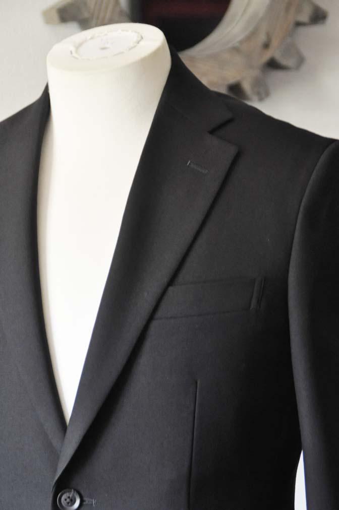DSC1264-1 お客様のスーツの紹介-ブラックスーツ- 名古屋の完全予約制オーダースーツ専門店DEFFERT