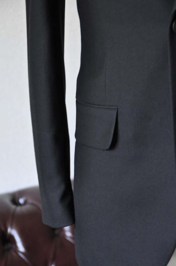 DSC1266-1 お客様のスーツの紹介-ブラックスーツ- 名古屋の完全予約制オーダースーツ専門店DEFFERT