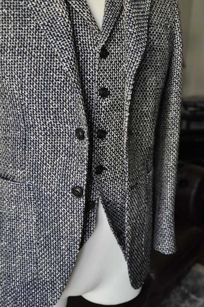 DSC1278-1 お客様のジャケット/ベストの紹介-FERLA ネイビー/ゴールド-