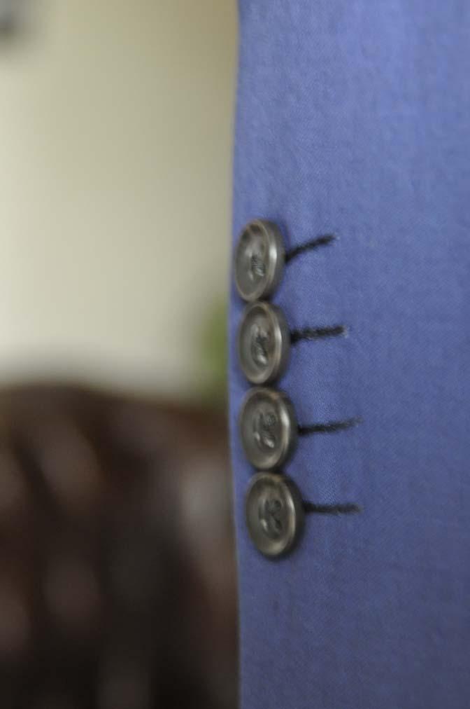 DSC12832 お客様のスーツの紹介-Biellesi 無地ネイビースリーピース-