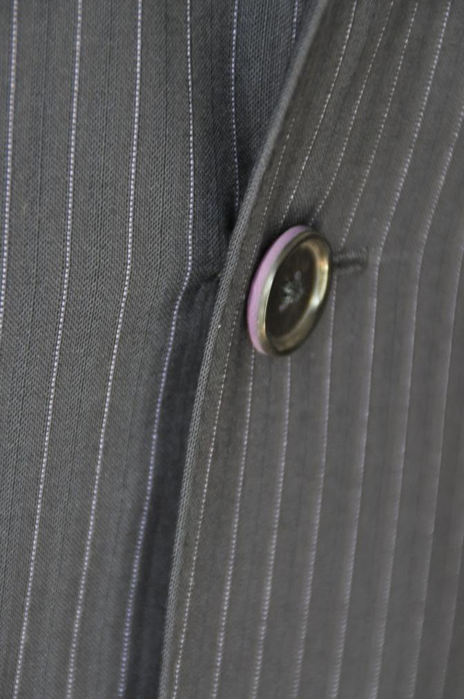 DSC1286 お客様のスーツの紹介-ネイビーストライプ-