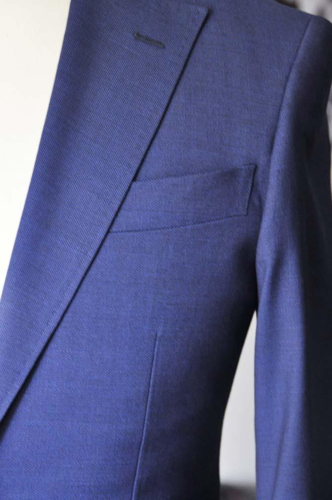 DSC12892 お客様のウエディング衣装の紹介-Biellesi無地ネイビー グレンチェックベスト-