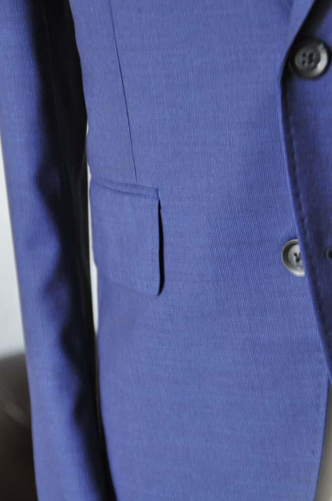 DSC12911 お客様のウエディング衣装の紹介-Biellesi無地ネイビー グレンチェックベスト-
