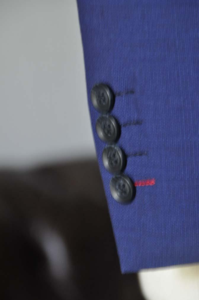 DSC12921 お客様のウエディング衣装の紹介-Biellesi無地ネイビー グレンチェックベスト-