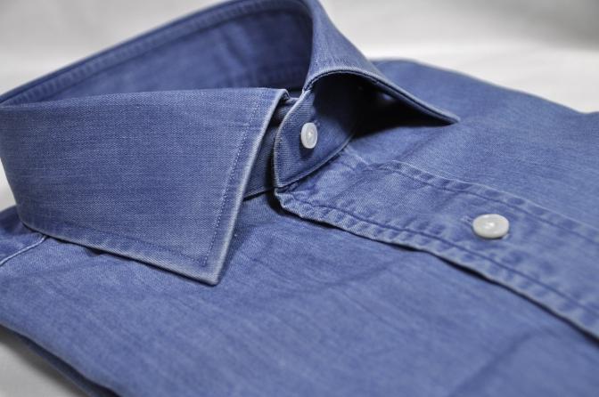 DSC13011 インティゴ染Yシャツ