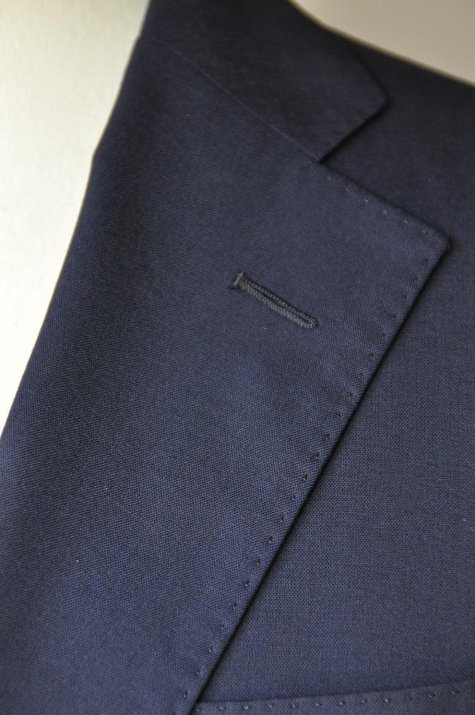 DSC13012 お客様のスーツの紹介-TALLIA DI DELFINO ネイビースーツ-