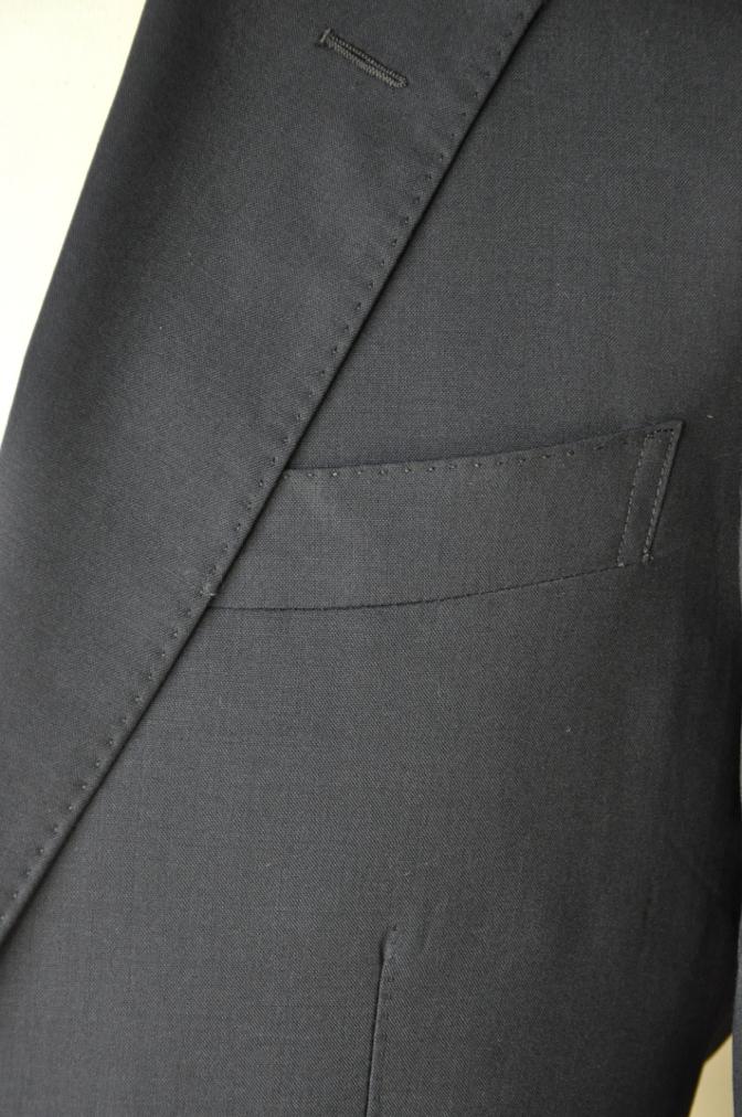 DSC1302 お客様のスーツの紹介-TALLIA DI DELFINO ネイビースーツ-