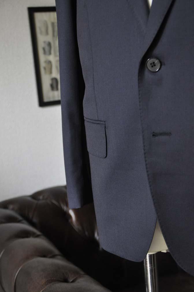 DSC13192 お客様のスーツの紹介- Biellesi 無地ネイビースーツ-