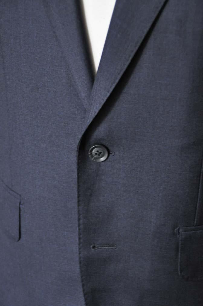 DSC1334 お客様のスーツの紹介-Biellesi 無地ネイビースーツ-