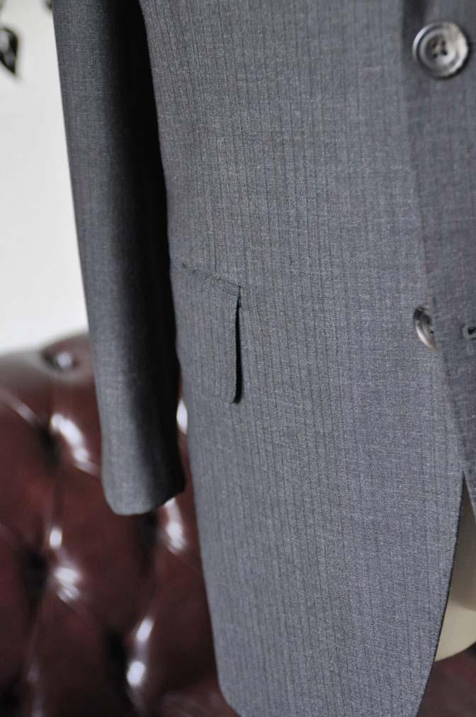 DSC1367-1 お客様のスーツの紹介-御幸毛織 グレーストライプスーツ-
