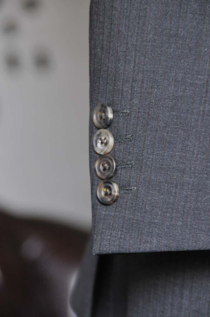 DSC1369-1 お客様のスーツの紹介-御幸毛織 グレーストライプスーツ-