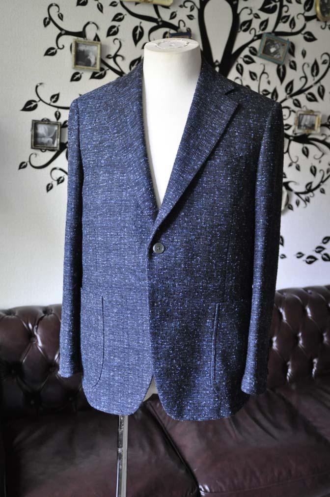 DSC1411-1 お客様のジャケットの紹介-FERLA ネイビージャケット- 名古屋の完全予約制オーダースーツ専門店DEFFERT