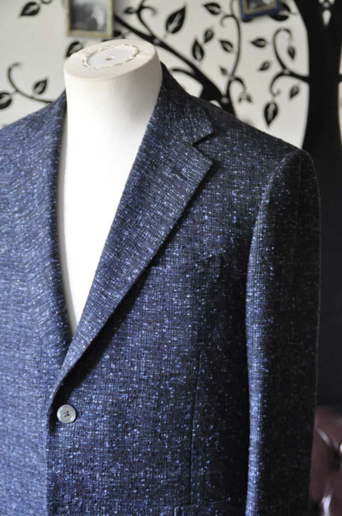 DSC1415-1 お客様のジャケットの紹介-FERLA ネイビージャケット- 名古屋の完全予約制オーダースーツ専門店DEFFERT