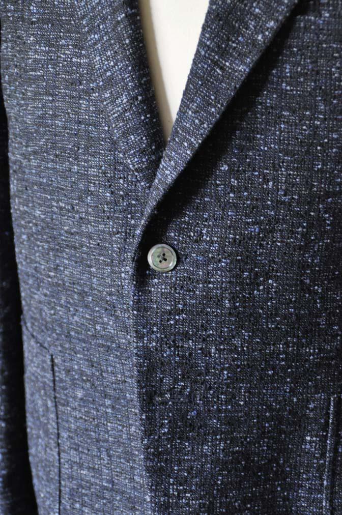DSC1418-1 お客様のジャケットの紹介-FERLA ネイビージャケット- 名古屋の完全予約制オーダースーツ専門店DEFFERT