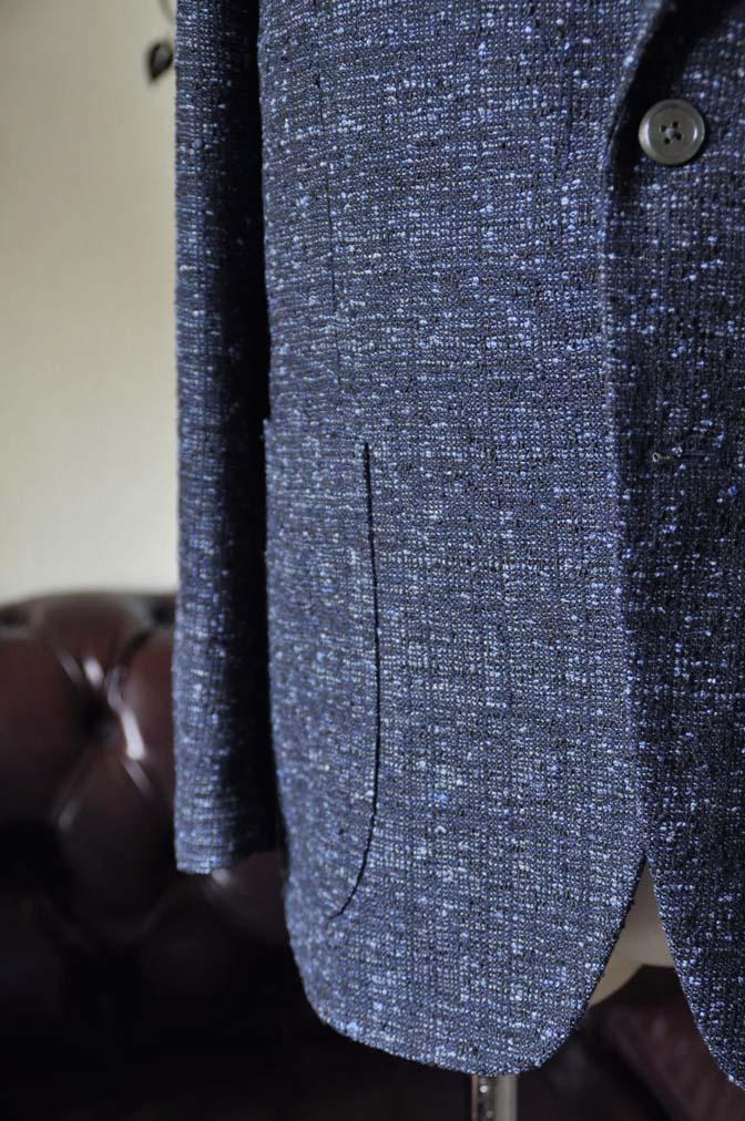 DSC1419-1 お客様のジャケットの紹介-FERLA ネイビージャケット- 名古屋の完全予約制オーダースーツ専門店DEFFERT