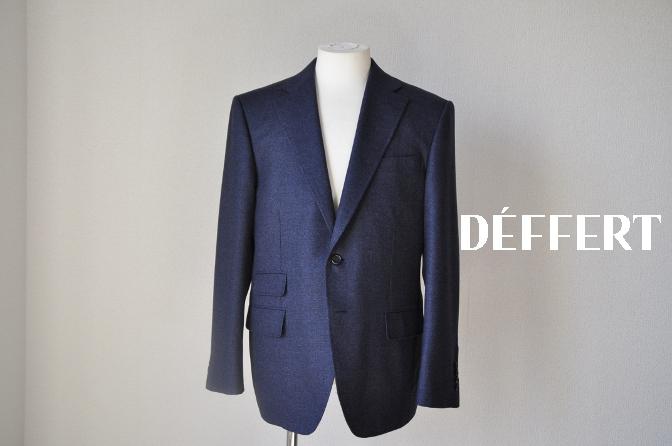 DSC1423 お客様のジャケットの紹介-REDA ネイビーシングルジャケット-