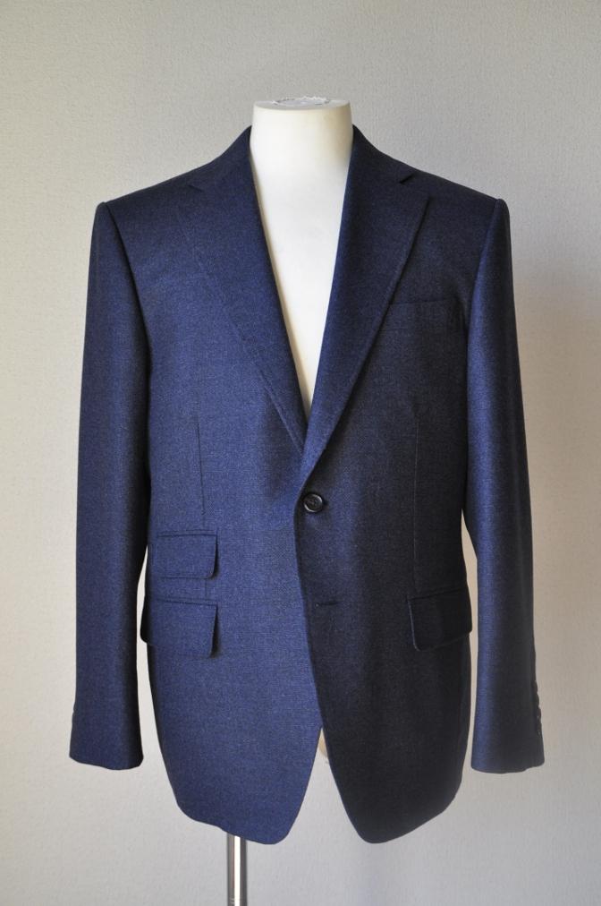 DSC1424 お客様のジャケットの紹介-REDA ネイビーシングルジャケット-