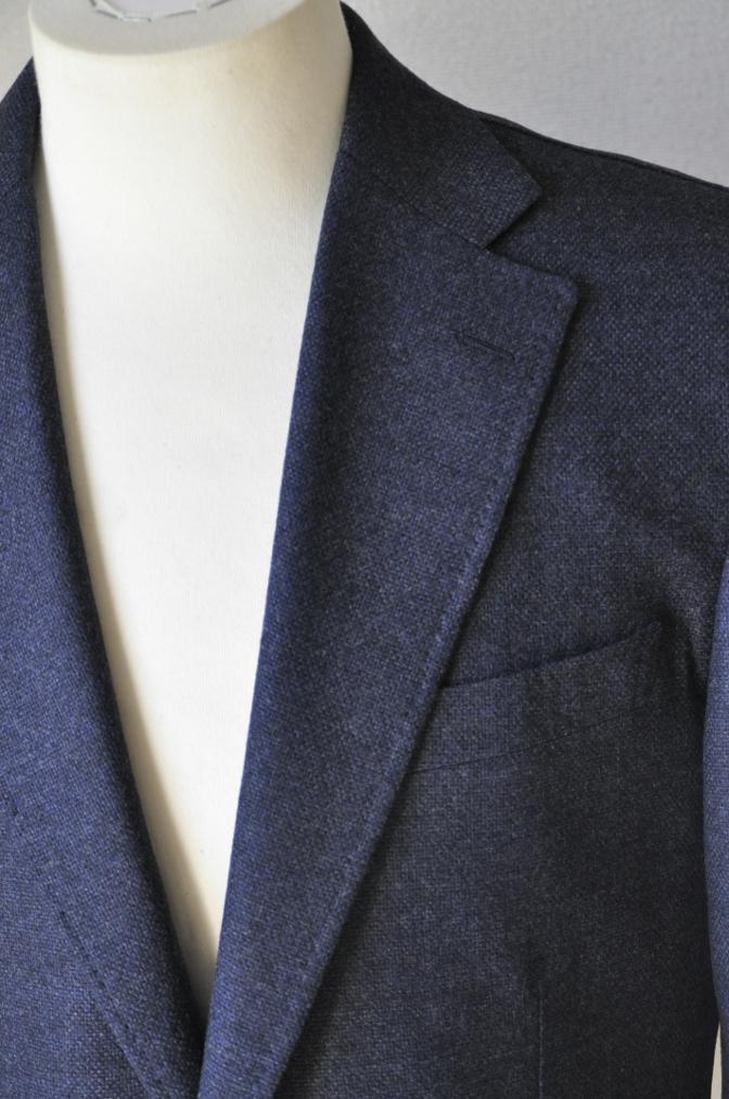 DSC1426 お客様のジャケットの紹介-REDA ネイビーシングルジャケット-