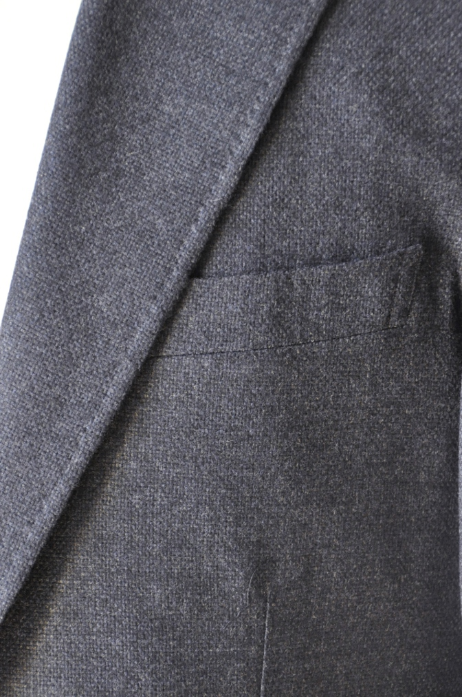 DSC14271 お客様のジャケットの紹介-REDA ネイビーシングルジャケット-
