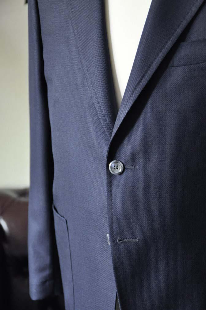 DSC1430-1 お客様のジャケットの紹介-CANONICOネイビーホップサック アンコンジャケット-