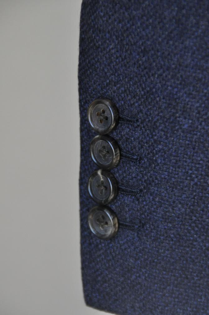 DSC1430 お客様のジャケットの紹介-REDA ネイビーシングルジャケット-