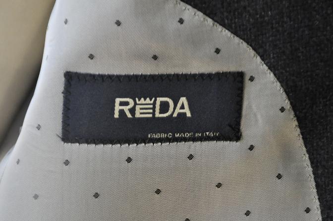 DSC14331 お客様のジャケットの紹介-REDA ネイビーシングルジャケット-
