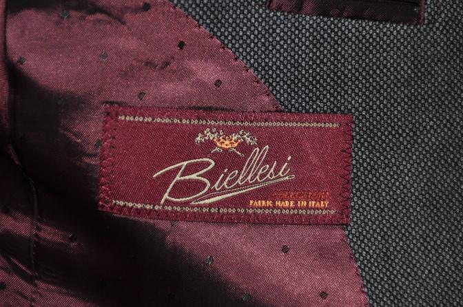 DSC1453 スーツの紹介-BIELLESI グレーバーズアイ スリーピース-