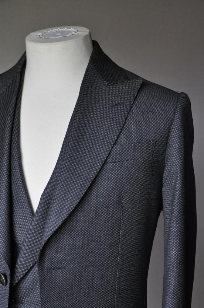 DSC1455 スーツの紹介-BIELLESI グレーバーズアイ スリーピース-