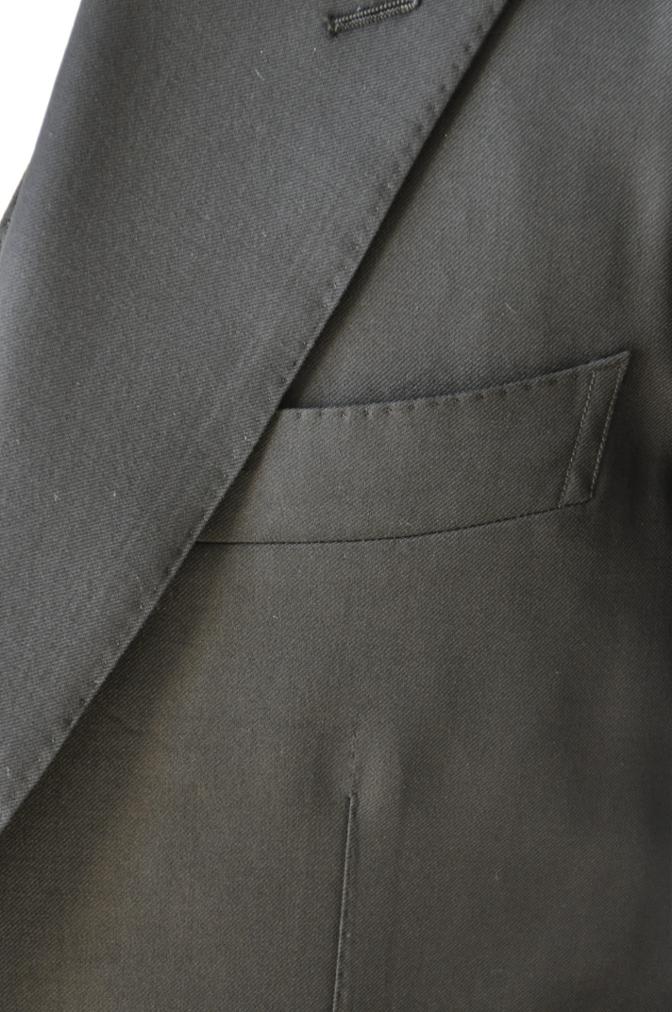 DSC14641 お客様のスーツの紹介-CANONICO ブラックスリーピース-