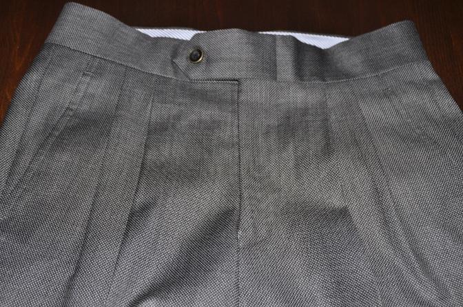 DSC1509 スーツの紹介-BIELLESI グレーバーズアイ スリーピース-