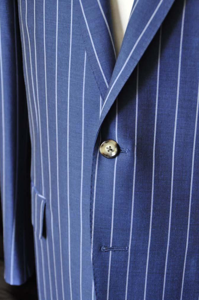 DSC1537-1 お客様のスーツの紹介-DARROW DALEネイビーストライプスーツ-