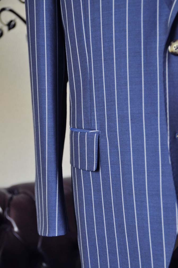 DSC1538-1 お客様のスーツの紹介-DARROW DALEネイビーストライプスーツ-