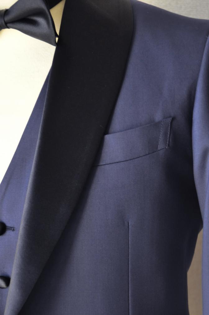 DSC15562 お客様のウエディング衣装の紹介-ネイビータキシード- 名古屋の完全予約制オーダースーツ専門店DEFFERT