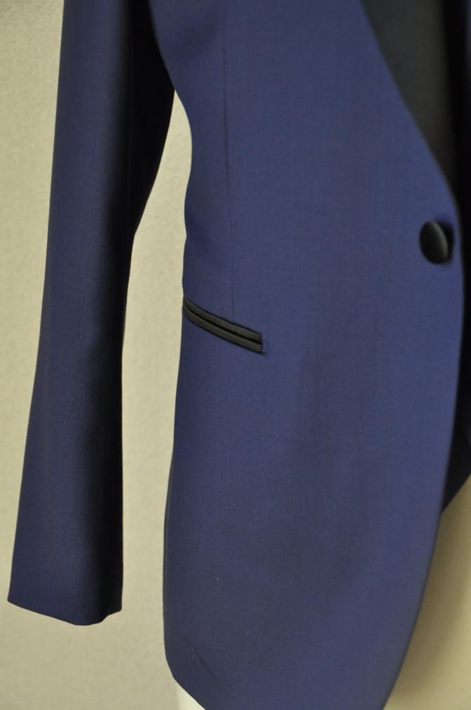 DSC15602 お客様のウエディング衣装の紹介-ネイビータキシード- 名古屋の完全予約制オーダースーツ専門店DEFFERT